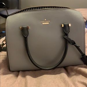 Grey Kate spade purse!